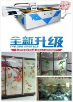 Best quality industrial heads uv glass printer with high resolution