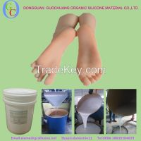 medical liquid silicone artificial limbs mold making silicone rubber