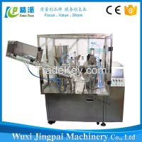 GMP sandard fully automatic plastic tube filling and sealing machine for toothpaste