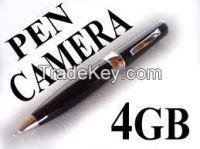 Spy pen with hidden camera