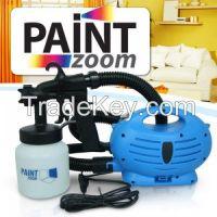 Paint sprayer zoom