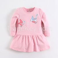 Baby girl dress clothes cute fleece dress