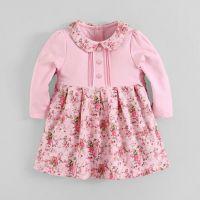 Baby clothes wholesale price fleece dress