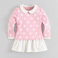 Baby girl clothes cute fleece dress