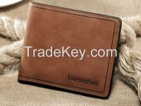 Wholesale Best Mens Leather Wallet Money Clip Card Holder