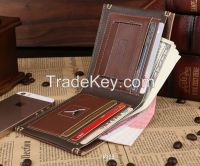 Hottest Wholesale Leather Mens Clutch Bag Wallet