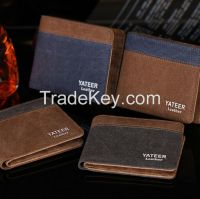 New Fashion Mens Synthetic Leather Wallets