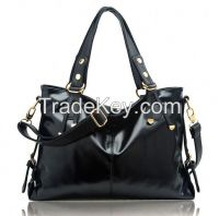 Leather Handbag Fashion Elegance Ladies Handbag Soft Pu Bag Leather Women European And American Style