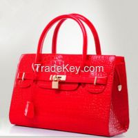 New Arrival Luxury Leather Classy Shiny Handbag For Ladies