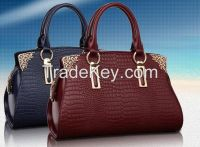 Professional Design Fashion Style Genuine Leather Lady Leather Handbags (All Color & Sizes) Wholesale China