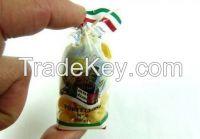 Miniature Italian food fridge magnets