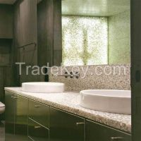 Fashion translucent hand basin - pebble stone
