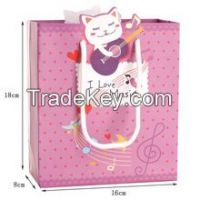 With Rope Handle Foldable Hello Kitty Paper Bag