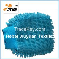 2 in 1 Chenille Microfiber Mitt for Dusting and Washing