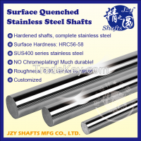 SUS400 series stainless steel hardened shaft HRC56-58 surface roughness 0.05 similar to mirror