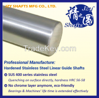 SUS400 series stainless steel quenched linear shaft HRC56-58 surface roughness 0.05 similar to mirror high precision