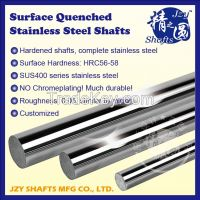 stainless steel hard round bar linear shaft HRC56-58 much durable high straightness 0.02mm/meter