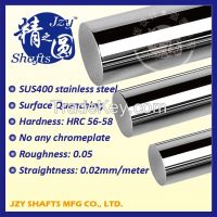 high straightness h6 g6 standard SUS400 series stainless steel quenching hard round rod HRC56-58 roughness 0.05 similar to mirror surface