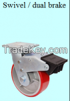 Heavy duty industry castor wheel