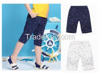 Children's summer shorts men's sports pants casual pants thin section tide