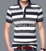 Shortsleeves Stripe Men