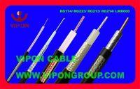50Ohm Coaxial Cable, RG174, RG58, RG213, RG214, RG223, RG8, 3D-2V, LMR400