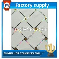 Hot stamping foil for PVC  wall panel heat printing transfer film
