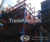 Coner tube biomass fired boiler