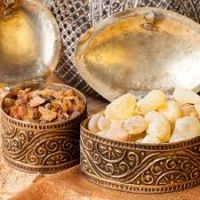 Natural frankincense resin
