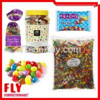 1kg Fruit Flavour Colorful Candy Bulk Halal Jelly Bean