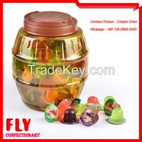 Assorted Flavours Mini Candied Fruit Jelly