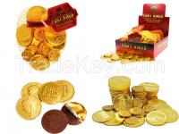 Golden Coin Compound Dark Chocolate Candy