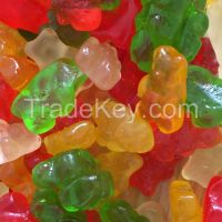 Xylitol Sweet Bulk Sour Powder Coated Sugar Free Gummy Candy Bears