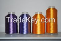 viscose filament yarn,   rayon filament embroidery thread