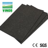 Shock Absorbing Soundproofing Mat for household, Hotel, Bar, KTV, Office