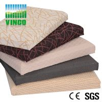sound absorbing fabric acoustic panel for cinema