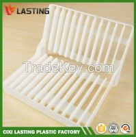 Foldable Kitchen Dish Drying Rack Plate Drainer Holder