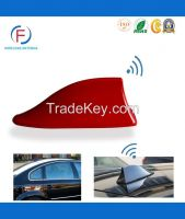 Amplified Rubber FM Radio Shark Fin Car Roof Mount Auto Antenna
