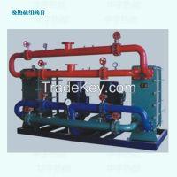 Plate heat exchanger/ Spiral-plate heat exchanger