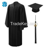 Bachelor Matte Gowns, Caps&Tassels Package-Black