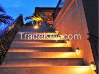 Solar Power powered Saving Efficient Bright 6LED Fence Gutter Garden Yard Wall Path Outdoor Light Lamp