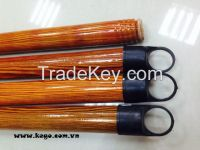 SHORT CAP WOODEN BROOM HANDLE FROM VIETNAM