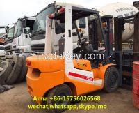 used small tcm 3ton forklift for sale