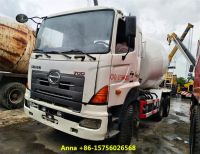used 8 cubic cement truck, hino chassis concrete mixer for sale