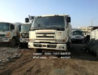 japan brand used nissan UD V8 dump truck for sale in china