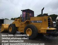 used japanese tcm 870-2 wheel loader