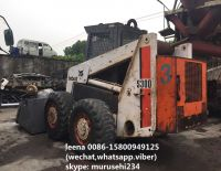 used bobcat S300 skid steer loader