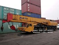 used 80tons kato mobile crane in cheap price, used crane for sale in china