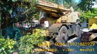 used japan 25tons kobelco p&h rough terrain crane for sale in china