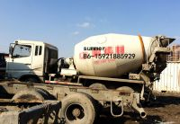 used mitsubishi fuso concrete mixer truck in cheap price